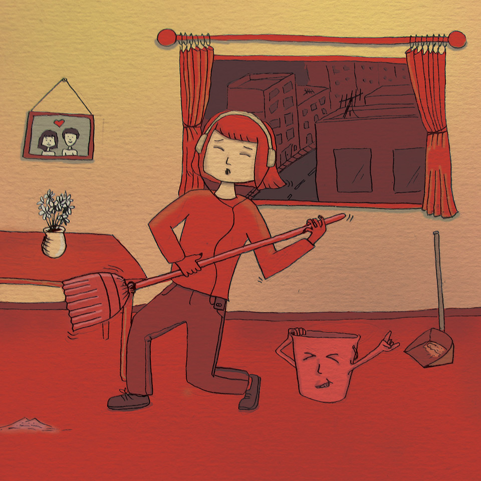 Clean the house 20 songs to listen online playlists for Music to clean to
